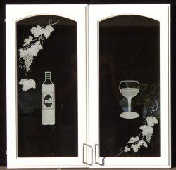 wine doors