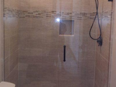 stationary shower
