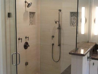 clean steam shower