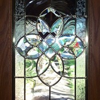 stained glass for a door